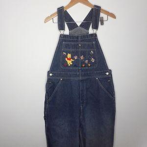 Vintage Disney Winnie the Pooh Denim Overalls